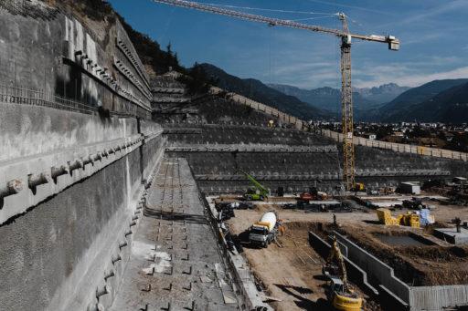 """Nuova costruzione della cantina """"Kellerei Bozen"""""""